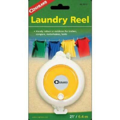 Coghlan's Camping Washing Line Retractable Laundry Reel - 21 Feet