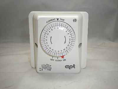 Apt Central Heating Boiler Timeswitch Immersion Heat Programmer Timer Imm24Ec