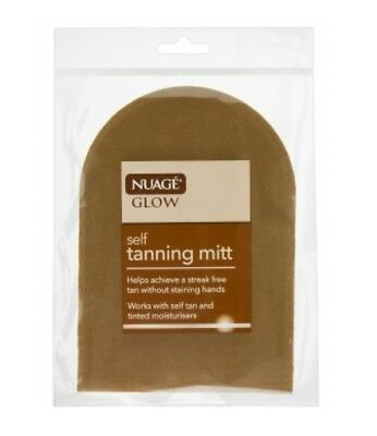 Nuage Glow Self Tanning Application Mitt For Fake Tan Cream Mousse Spray Moistur