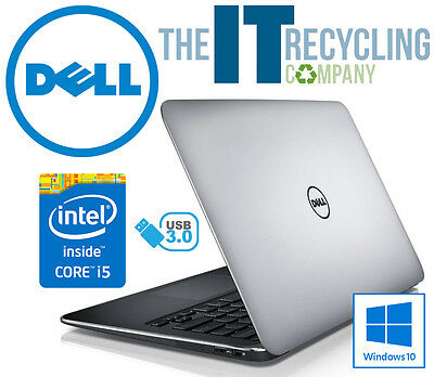 WINDOWS 10 - DELL XPS 13 LAPTOP - INTEL i5-3337U 1.80GHZ, 4GB RAM, 128GB SSD - D