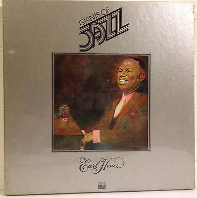 Earl Hines Giants Of Jazz Box Set vinyl 3x LP /Sealed Time Life w/ Booklet