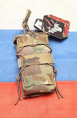 Russian army spetsnaz original SRVV AK mag high speed tactical pouch multicam