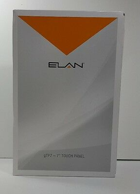 """Elan Core Brands 7"""" TP-7 Touch Panel - Black GTP7-B new in box"""