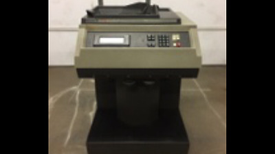 Cummins Jetsort Model 6000 High Speed Coin Counter Sorter bank counter