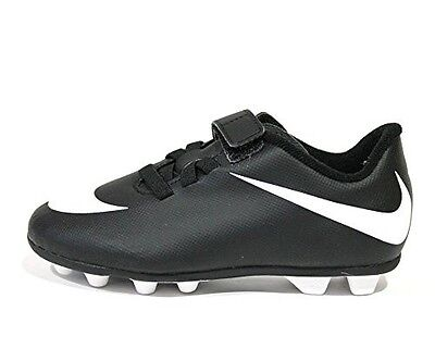 Nike Bravata Junior Black and White Soccer Cleats 13c  749905-011