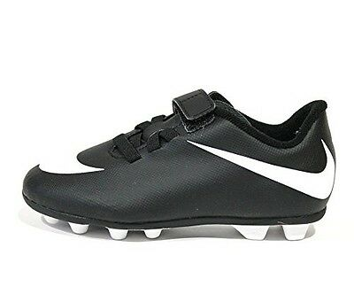 Nike Bravata Junior Black and White Soccer Cleats  Size 11C  749905
