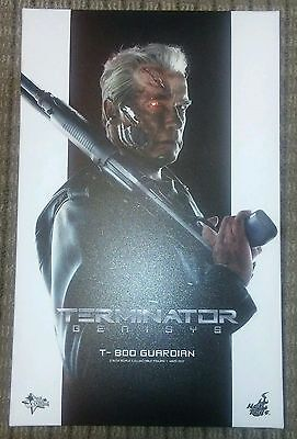 1//6 Hot Toys Terminator Genisys T-800 Muscular Body w// Pegs MMS307 *US Seller*
