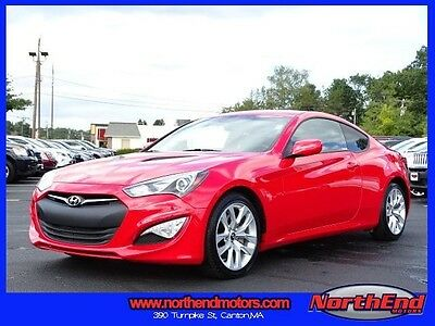 2014 Hyundai Genesis  2014 Coupe Used 8-Speed Automatic with SHIFTRONIC RWD Red