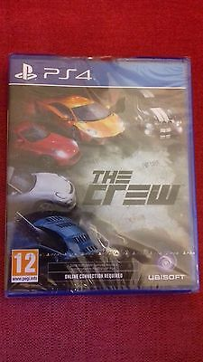 ps4 The Crew (Sony PlayStation 4, 2014) NEW & SEALED