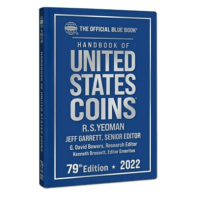 New Official Blue Book A Guide Book United States US Coins 2019 76th Hardcover