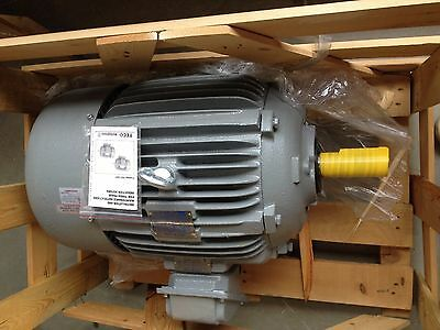 WESTINGHOUSE-30 hp electric motor 286t 3 phase  premium efficient 1800 rpm