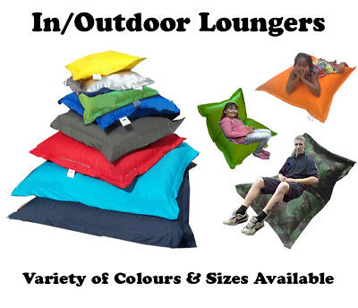 In/Outdoor Beanbag / Floor Cushion / Lounger - Kids & Adults - WORLDWIDE FROM UK