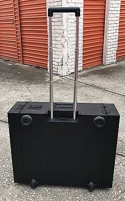 Cyber-Case Rackmount Case - complete with recessed casters and handle