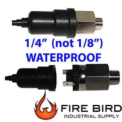 """1/8 or 1/4"""" 15-150psi Adjustable Air Pressure Switch Controller in USA"""