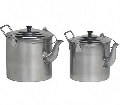 Teapot Billy 4Pt Stainless Steel Camping Hiking