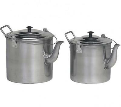 Teapot Billy 6Pt Stainless Steel Camping Hiking