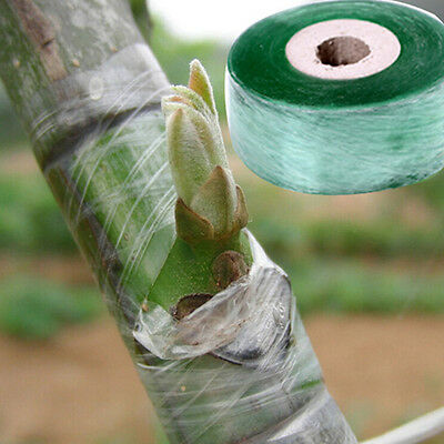 2cm*100m Grafting Tape Stretchable Self-adhesive For Garden Tree Seedling New FR