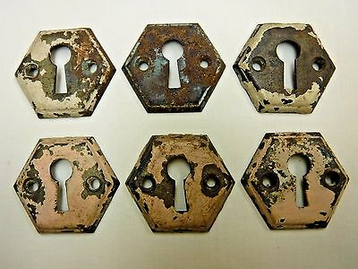Antique Metal Key Hole Covers
