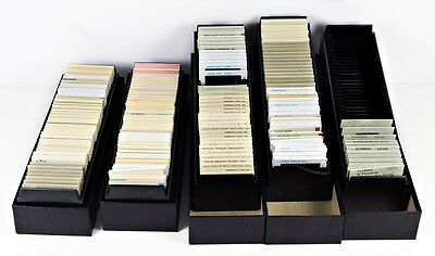 Estate Find Lot of Slides - 5 boxes and trays - Vintage