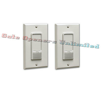 Liftmaster 823LM 2-Pack Remote Light Switch Security+2.0 for Garage Door Openers