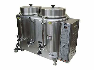 Curtis RU-300-12 Twin 3 Gallon Automatic Commercial Coffee Urn Brewer Maker 220V
