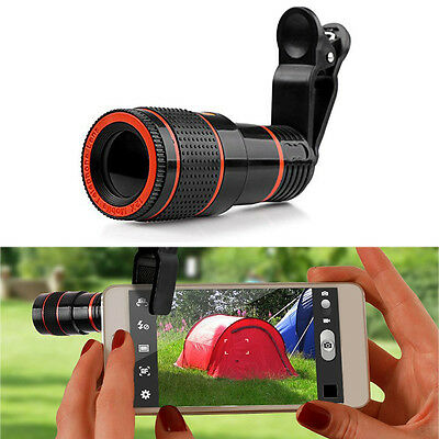 12x Optical Zoom HD Telescope Camera Lens For Mobile Smart Android IOS Phone