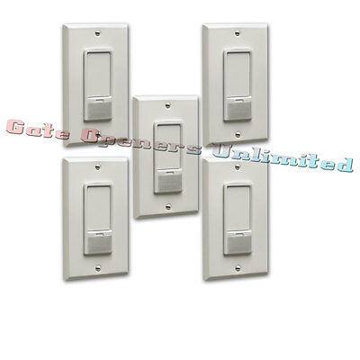 Liftmaster 823LM 5-Pack Remote Light Switch Security+2.0 for Garage Door Openers