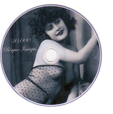 30,000 Vintage Victorian Risque, Burlesque Postcard Nude Photos On DVD