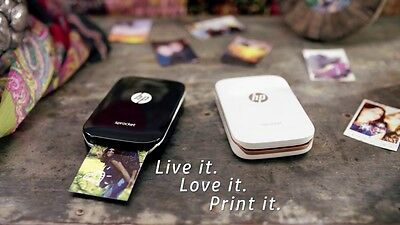 HP Sprocket Mobile Instant Photo Printer. Print from your phone via Bluetooth!