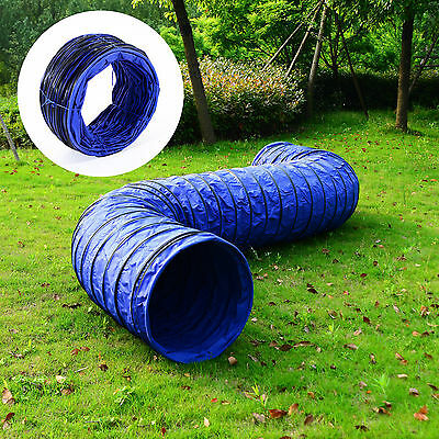 Open Tunnel Chute Activity Agility Obedience Training Run Exercise Dog Supply