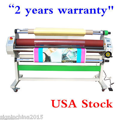 """USA! 110V 60"""" Economical Full - auto Low Temp Wide Format Cold Laminator + Stand"""