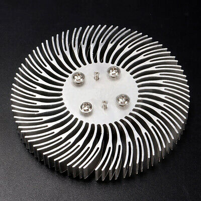 Round Spiral Aluminum Heat Sink Radiator 90 x 10mm For 10W High Power LED Lamp