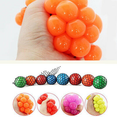 Mesh Ball Sensory Fun Toy - Fiddle Fidget Stress Sensory Autism ADHD Delightful