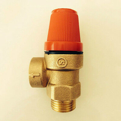 "1/2"" DN15  6 bar safety valve relief valve for solar water heater"