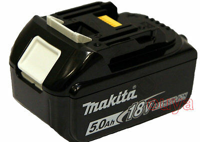 Makita 18V 5.0 Ah LXT Lithium Ion BHP456 To BL1850 Battery BL1850 for LXT drill