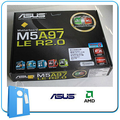 Placa base ATX ASUS M5A97 LE R2.0 ddr3 Socket AM3 con Accesorios