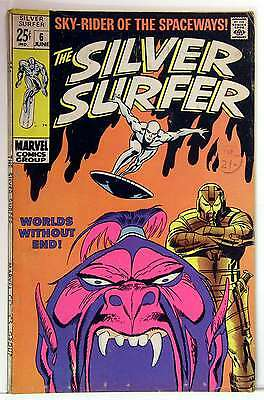 Silver Surfer (Vol 1) #   6 (VG+) (Vy Gd Plus+)  RS003 Marvel Comics ORIG US