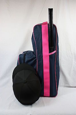 Edt Boot Hat& Whip Bag Travel Horsebox  Long Boot Storage Lugage Bags