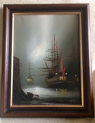 Original Oil Painting By Barry Hilton.