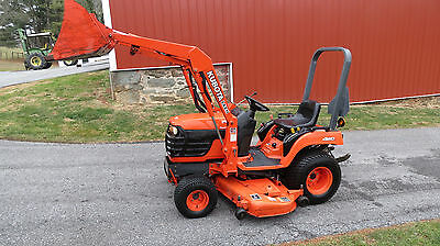 2002 Kubota Bx2200 4X4 Compact Tractor Loader & Belly Mower Hydrostatic Diesel