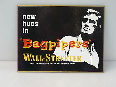 WALL-STREETER BAGPIPER  Shoe store Display NOS