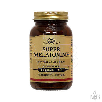 Solgar - Super Melatonine - 60 Tablettes