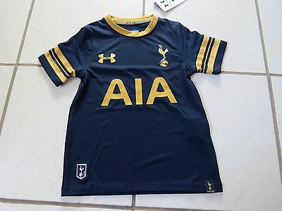 New with tags Under Armour Tottenham Hotspur Away Tshirt Top YXS , RRP £80