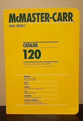 McMaster-Carr Catalog #120  New Jersey 2014
