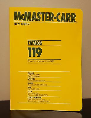 McMaster-Carr Catalog #119  New Jersey 2013