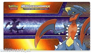Official Pokemon Playmat :: Mega Garchomp Play Mat :: Brand New :: Full Size
