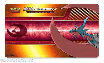 Official Pokemon Playmat :: Mega Salamence Play Mat :: Brand New :: Full Size