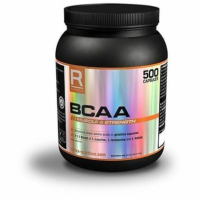 Reflex BCAA 500 Capsules / BUY 2 GET 1 FREE / FAST DELIVERY