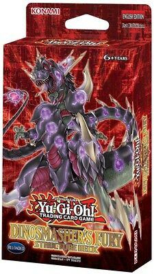 YuGiOh! Dinosmasher's Fury UNL Edition Structure Deck :: Brand New And Sealed Bo