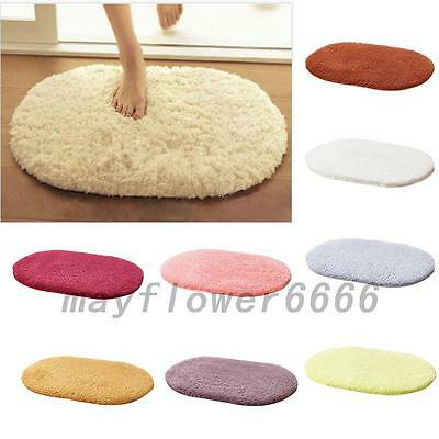 Absorbent Non-slip Soft Memory Plush Shower Mat Bath Bathroom Floor Foam Rug